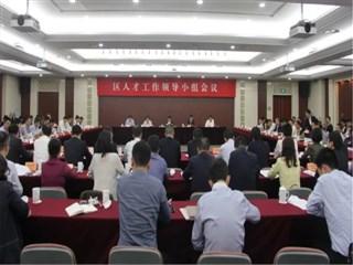 王庆华强调:推进人才强区战略 助推高质量发展