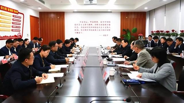 省委常委、市委书记蓝绍敏专题调研组织工作
