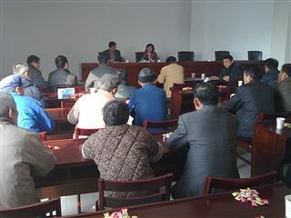 练聚村召开市镇两级党代表换届选举动员大会