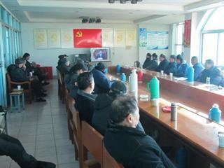 广福村开展党员冬训学习