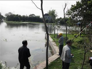 联民村确认村庄环境整治工程量
