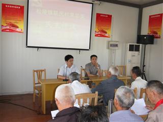 联民村开展2012年度村干部民主测评