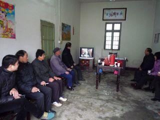 富乡村开展党员冬训工作