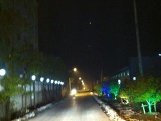 新和村启动路灯亮化工程