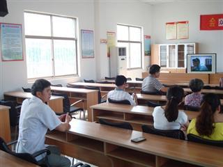 众安桥村远程教育活动顺利开展