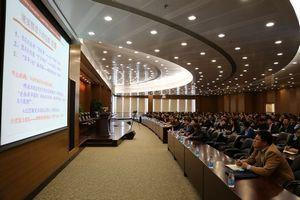 中浦院于洪生教授来我区开展群众路线教育实践活动专题讲座