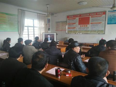 开阳村召开2015年冬训大会