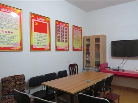 南厍村党员中心户活动阵地