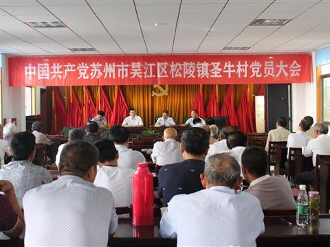 圣牛村召开2016年村党委换届选举工作会议