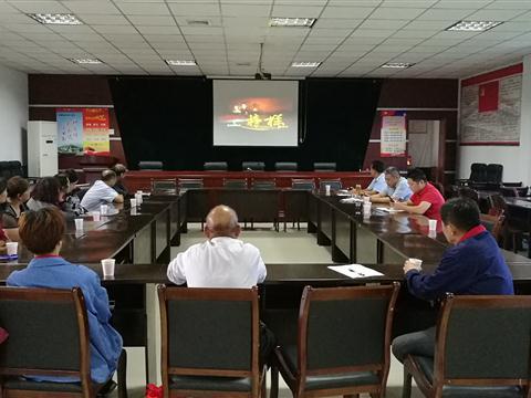 群幸村党委组织党员观看《榜样》专题节目