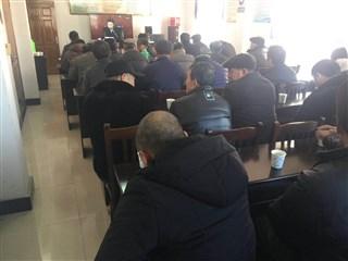 梵香村开展2018年党员干部冬训活动