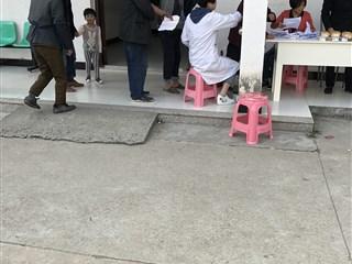 夏家斗村开展村民体检活动