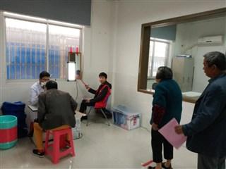 沧洲村老年人眼病义诊活动