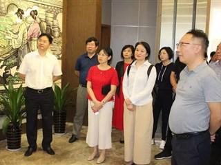 苏州市处级领导干部培训班调研盛泽丝绸文化