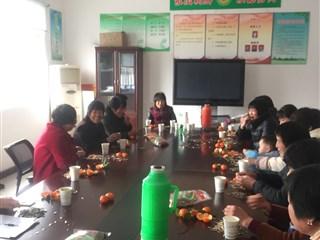 大德村开展庆三八妇女节茶话会活动