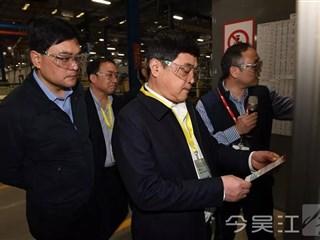 区委书记王庆华带队来吴江开发区督查安全生产