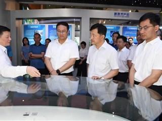 杭州市桐庐县党政代表团来吴江考察