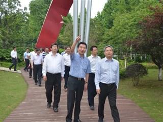 市委副书记朱民来盛泽调研党建联系点及农业农村重大项目工作情况